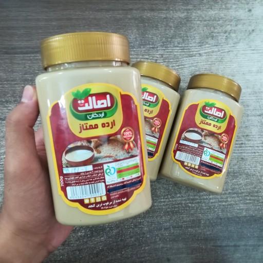 ارده کنجد 700 گرمی اصالت( تهیه شده با کنجد ایرانی) (دارای سیب سلامت و مجوز بهداشت)- باسلام