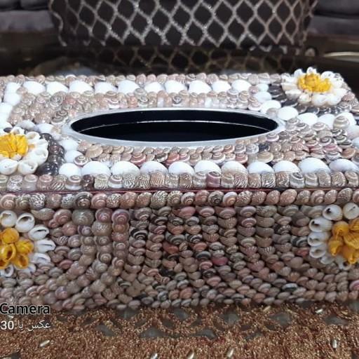 جا دستمالی صدفی- باسلام