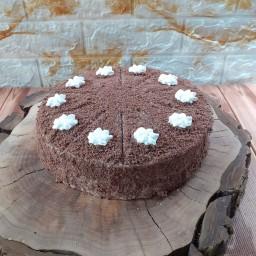 کیک شکلاتی خامه ای