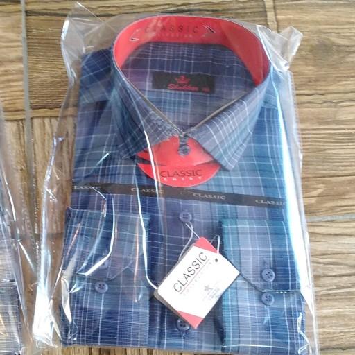 پیراهن مردانه جعبه ای دوایکس لارج- باسلام