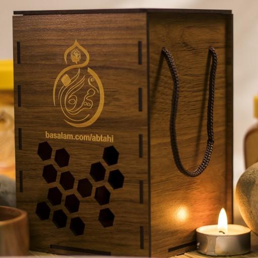 ترکیب عسل چند گل و سیاه دانه و زنجبیل مهرگان ایران  ( 1000گرم )- باسلام