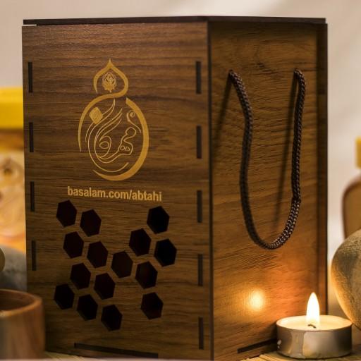 ترکیب عسل گون گز انگبین   و سیاه دانه و زنجبیل مهرگان ایران  (1000 گرم )- باسلام