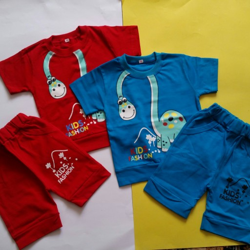 تیشرت شلوارک پسرانه  لباس بچگانه ست پسرانه تیشرت  تیشرت پنبه ای  تیشرت شلوارپنبه ای لباس پسرانه لباس  پوشاک بچگانه- باسلام