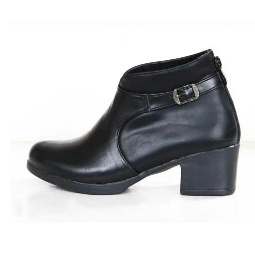 کفش زنانه مدل نیم بوت زیپی- باسلام
