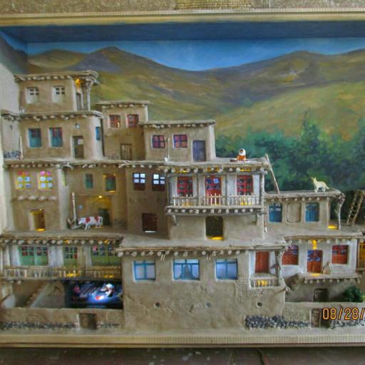 تابلو نما روستا کاهگلی- باسلام
