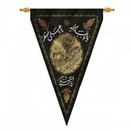 پرچم محرم چاپ سنگی یا علی اصغر کد 4000825