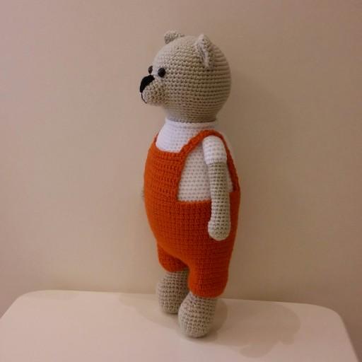 خرس کرم پیش بند نارنجی- باسلام