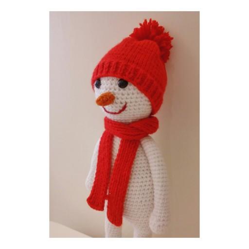 آدم برفی کلاه قرمزی- باسلام