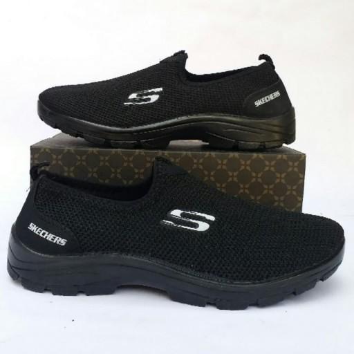 کفش اسکیچرز بافتی مردانه - باسلام