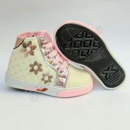 کفش نیم بوت دخترانه زیپ بغل (کد 307)