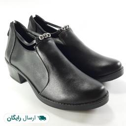 کفش زنانه مدل مروارید زیپ دار (کد 134)