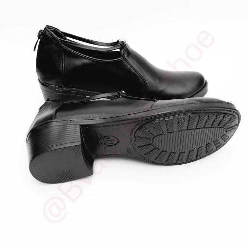 کفش زنانه مروارید زیپ دار                                                      (کد محصول 839- تک سایز)- باسلام
