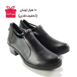 کفش زنانه مروارید زیپ دار                                                      (کد محصول 839- تک سایز)