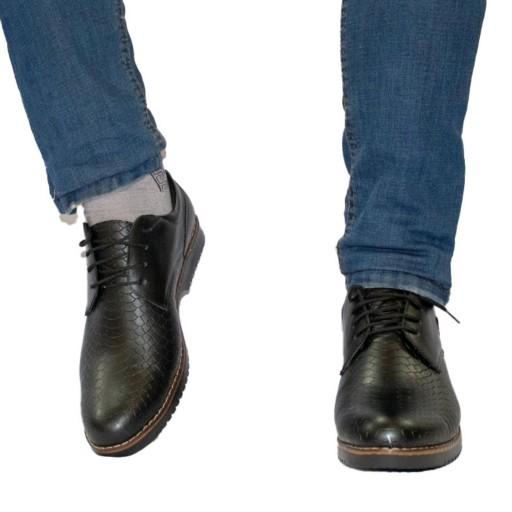 کفش مردانه رویه پوست ماری                                                     فقط سایز 40- باسلام