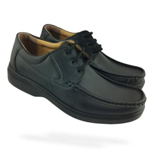 کفش مردانه طبی فوق سبک پارس 122 بندی شهپر- باسلام