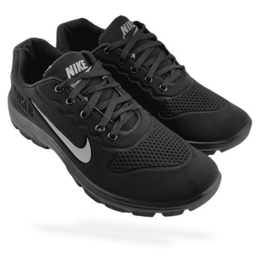 کفش اسپرت طرح نایک سه بعدی رنگ مشکی              سایز 40 تا 45- باسلام