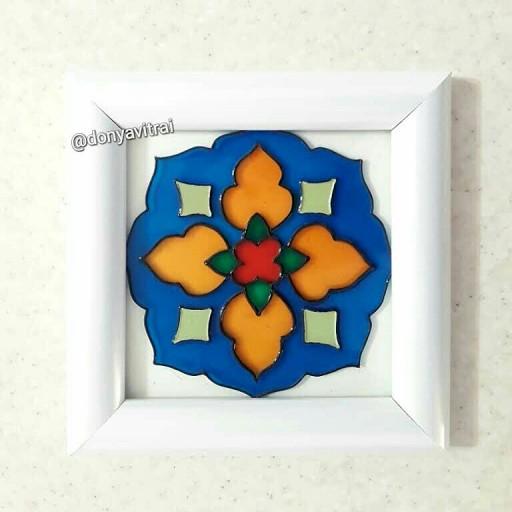 تابلو ویترای با طرح سنتی- باسلام