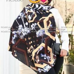 حراج روسری نخی بهاره قواره بزرگ 140