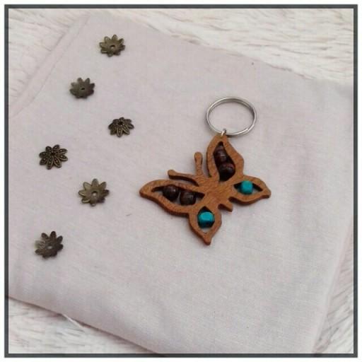 جاسوییچی چوبی پروانه- باسلام