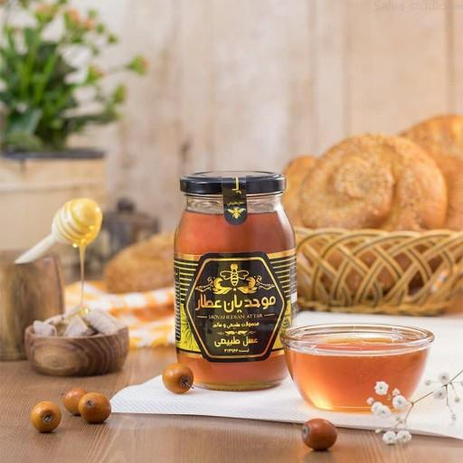 عسل کنار600 گرم خام( به سراسر🇮🇷)طبیعی- باسلام