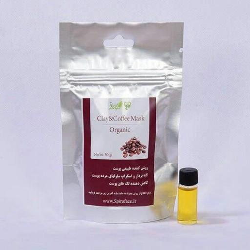 ماسک قهوه با خک رس- باسلام