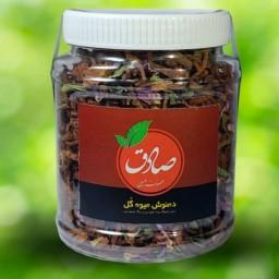 دمنوش چای میوه گل (به ، گل محمدی،سیب،گلابی،به لیمو بهارنارنج،هل،دارچین)