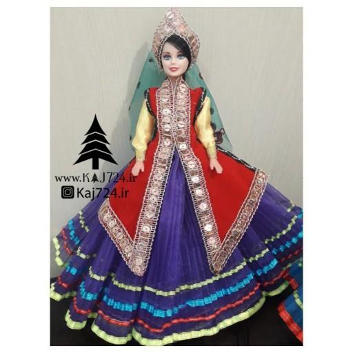 عروسک دامن چین دار طرحِ سنتی شماره 8🌲- باسلام