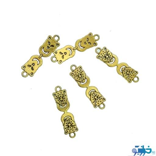 خرجکار گرمی طلایی شکل چیتا- باسلام