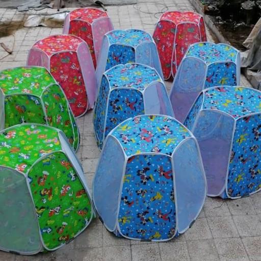 چادر بازی نوجوان طرح شش ضلعی- باسلام