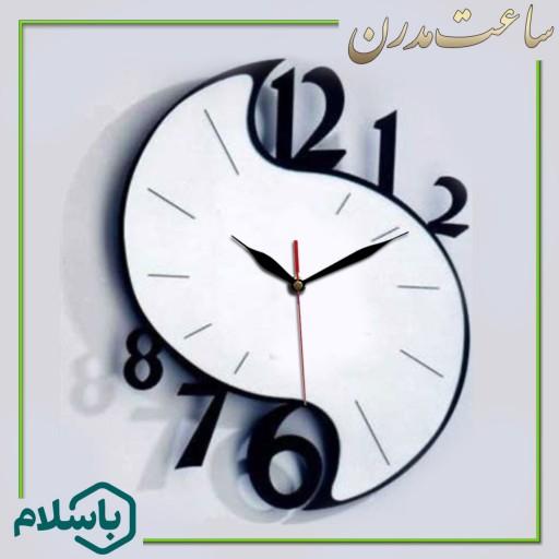 ساعت دیواری طرح ناز- باسلام