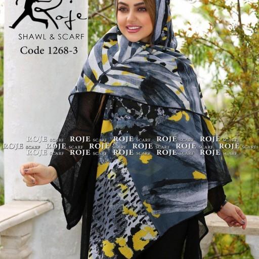 روسری نخی بهاره دست دوز 36 - باسلام