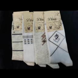 جوراب مردانه پنبه پلی استر