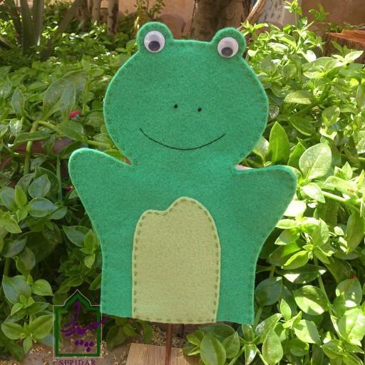 پک 7 عددی عروسک نمایشی نمدی حیوانات - باسلام