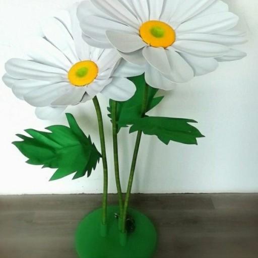گل پایه دار فومی سه شاخه و پایه- باسلام