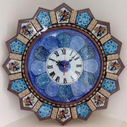 ساعت خاتم مینیاتور خورشیدی با صفحه ی مینا سایز بزرگ 47 سانتی متری(قالپاق دار)