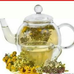 نبات ،دم نوش چای سبز و بابونه نیم کیلویی