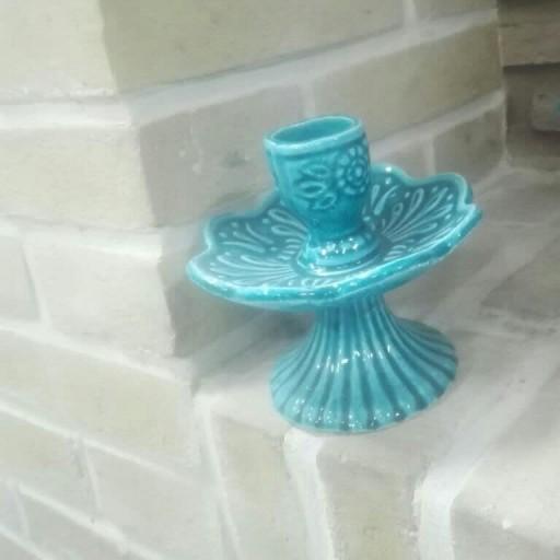ظروف هفت سین فیروزه ای- باسلام