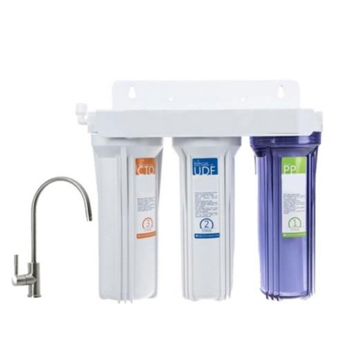 دستگاه تصفیه آب سه مرحله ای- باسلام