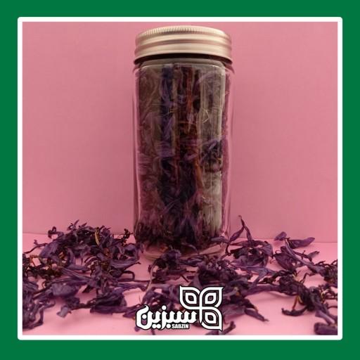 دمنوش گلبرگ بنفش زعفران ممتاز با بسته بندی کادویی ارسال رایگان- باسلام