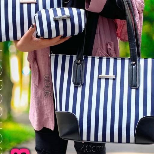 زنانه مارک فاشیون سه تیکه و در سه رنگ و سایز بزرگ- باسلام