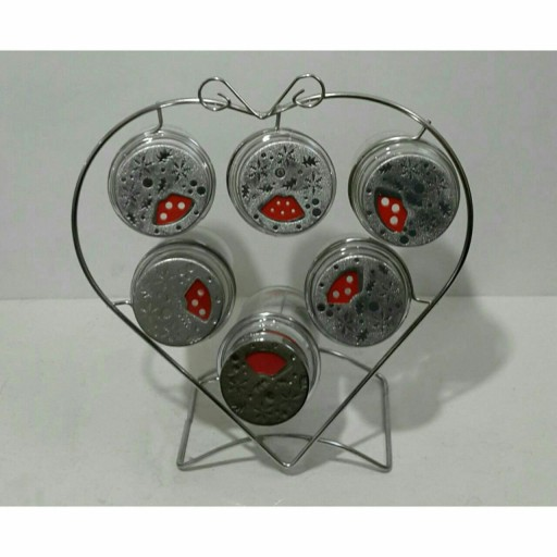 "جا ادویه شاخهای ""قلب"" (3کاره)- باسلام"