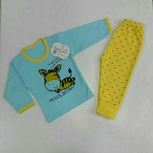 لباس نوزاد بلوز شلوار😊- باسلام