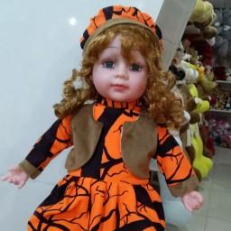 عروسک تپل موزیکال.24اینچ میشه 61سانت.حدود 900گرم وزن عروسک.