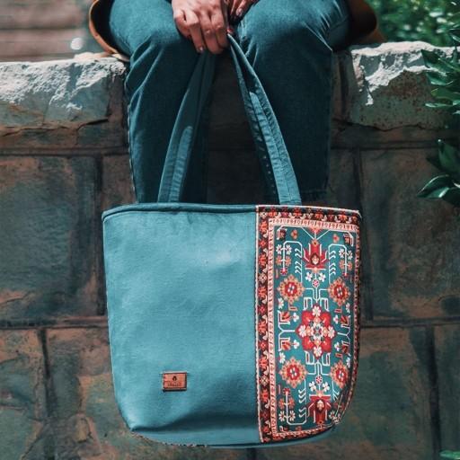 کیف دوطرفه یوتاب با پارچه میکرو و ضدآب مدل 1009- باسلام