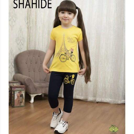 تیشرت ساپورت دخترانه دوچرخه 45 تا 60- باسلام
