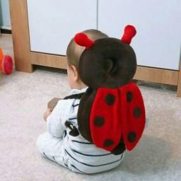 محافظ سر نوزاد و کودک- طرح کفشدوزک