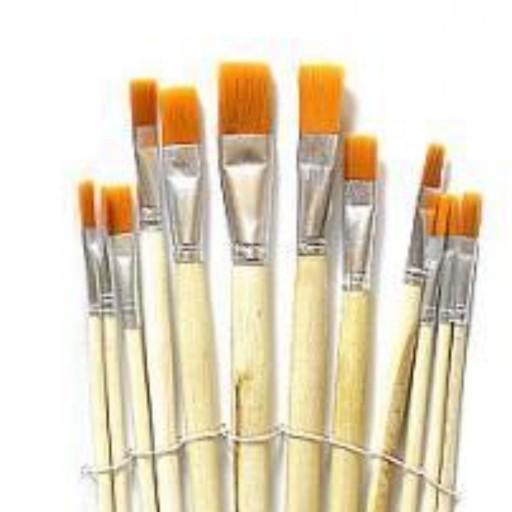 قلم مو تخت سمور بسته 12 عددی- باسلام