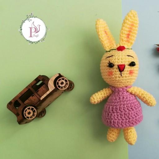 عروسک خرگوش خانوم کوچولو- باسلام