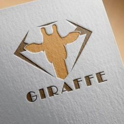 طراحی حرفه ای لوگو گالری زرافه