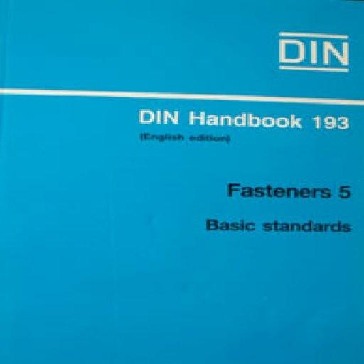 (Fasteners 5 (Basic Standards)(DIN 193- باسلام